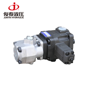 High and low pressure combination pumps