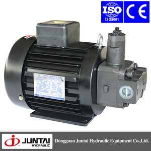 Aluminum housing electric motors for hydraulic